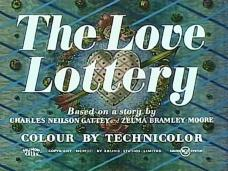 The Love Lottery (1954) opening credits