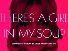 There's a Girl in My Soup (1970) opening credits (6)