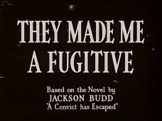 They Made Me a Fugitive (1947) opening credits
