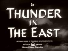 Thunder in the East (1952) opening credits (6)