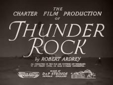 Thunder Rock (1942) opening credits (2)