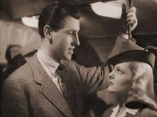 Stewart Granger (as David Penley) and Eileen Bennett (as Phoebe Wilson) in a screenshot from Thursday's Child (1943) (4)