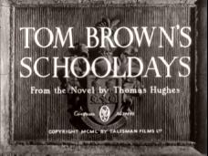 Tom Brown's Schooldays (1951) opening credits (3)
