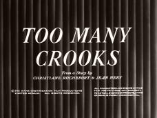 Too Many Crooks (1959) opening credits (4)