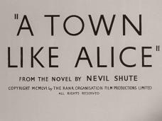 Main title from A Town Like Alice (1956) (4). From the novel by Nevil Shute