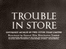 Trouble in Store (1953) opening credits (3)