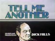 Main title from the 1976 'True Stories About Families and Relations' episode of Tell Me Another (1976-1979). Devised and presented by Dick Hills (1)