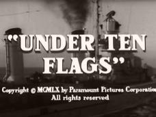 Under Ten Flags (1960) opening credits