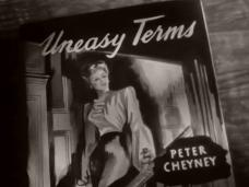 Main title from Uneasy Terms (1948) (4). Novel Peter Cheyney