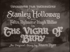 The Vicar of Bray (1937) opening credits (1)