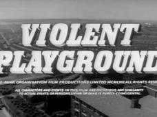 Violent Playground (1958) opening credits (5)