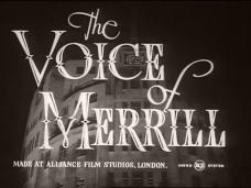 The Voice of Merrill (1952) opening credits
