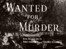 Main title from Wanted for Murder (1946) (4)