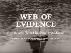 Main title from Beyond This Place (1959) [as Web of Evidence] (3). From the novel 'Beyond this Place' by A J Cronin