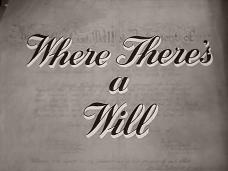 Where There's a Will (1955) opening credits (3)