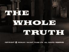 The Whole Truth (1958) opening credits