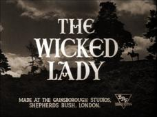 Main title from The Wicked Lady (1945)
