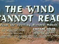 The Wind Cannot Read (1958) opening credits (6)