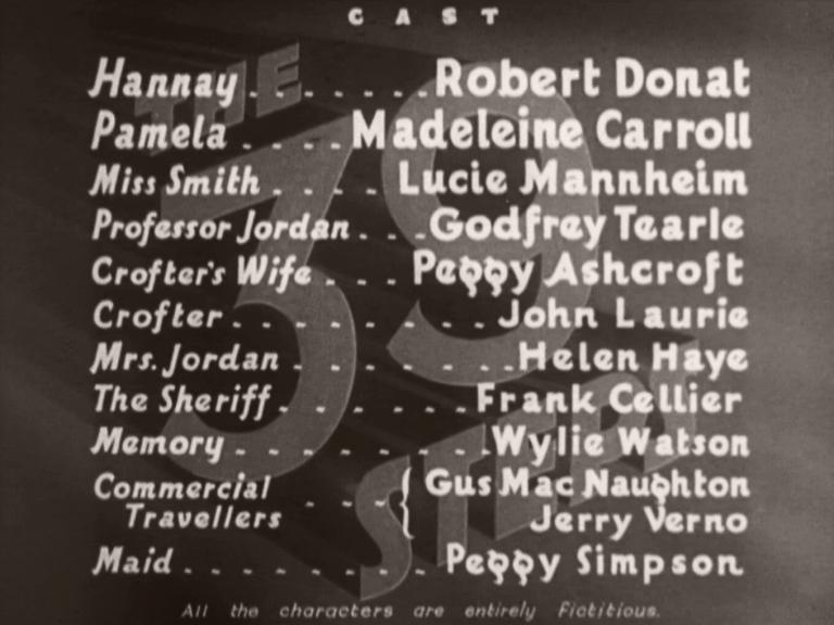 Main title from The 39 Steps (1935) (7)