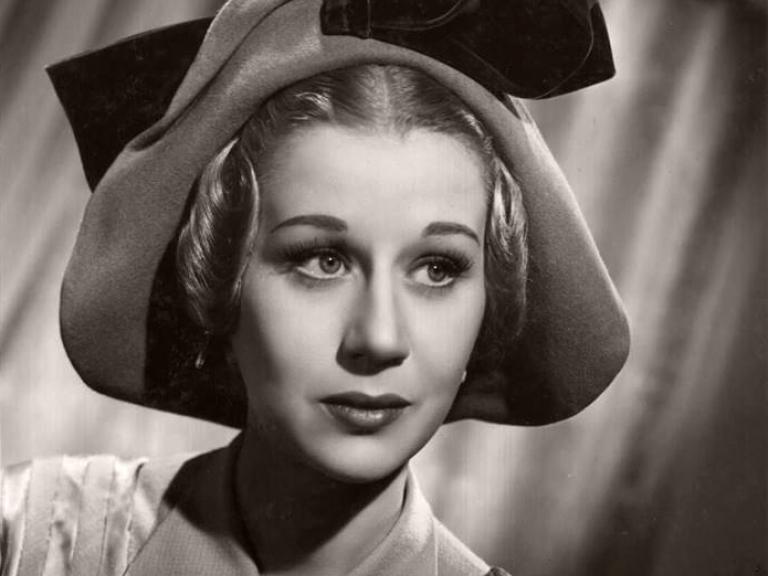 Margaret Leighton, British actress, pictured in 1948