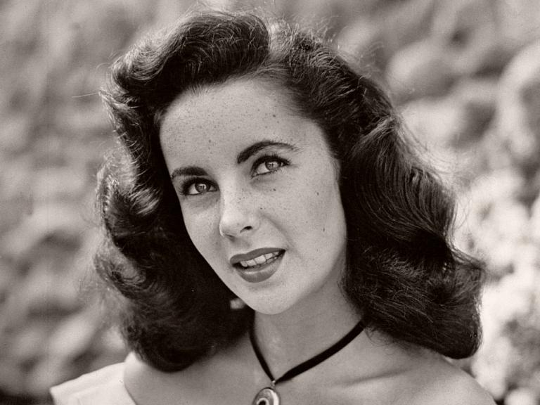 British actress, Elizabeth Taylor