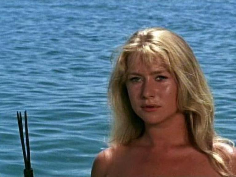 Cora (Helen Mirren) in Age of Consent (1969)