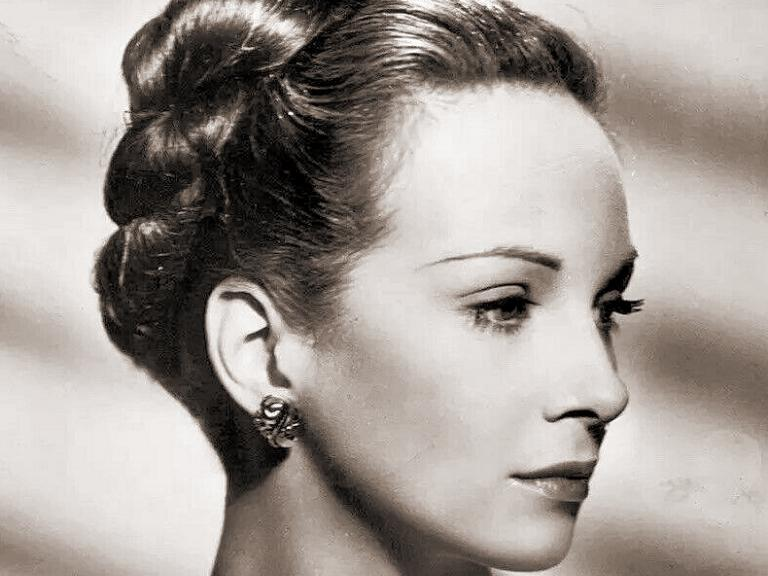 A new picture of the talented and lovely British actress Joan Greenwood under contract to the J. Arthur Rank Organisation.