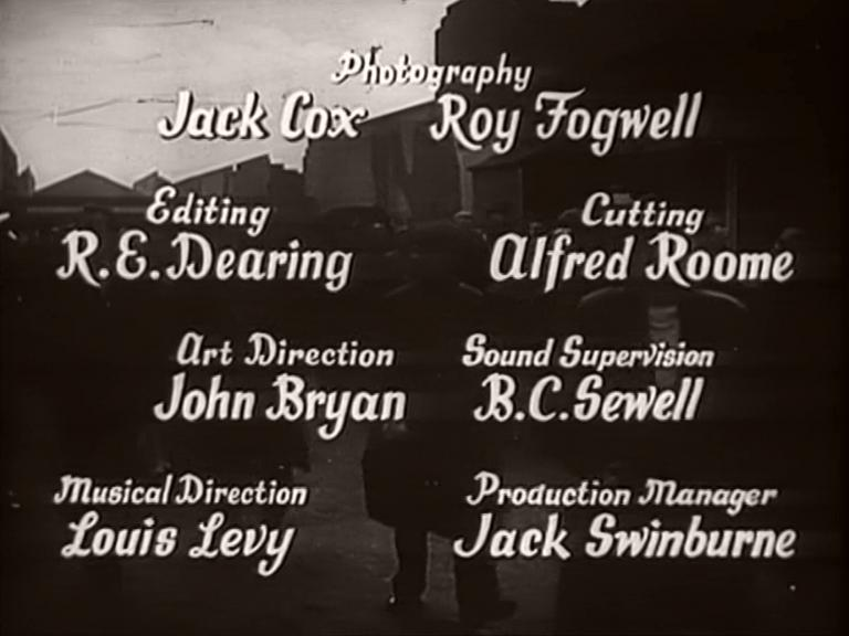 Main title from Millions Like Us (1943) (10)