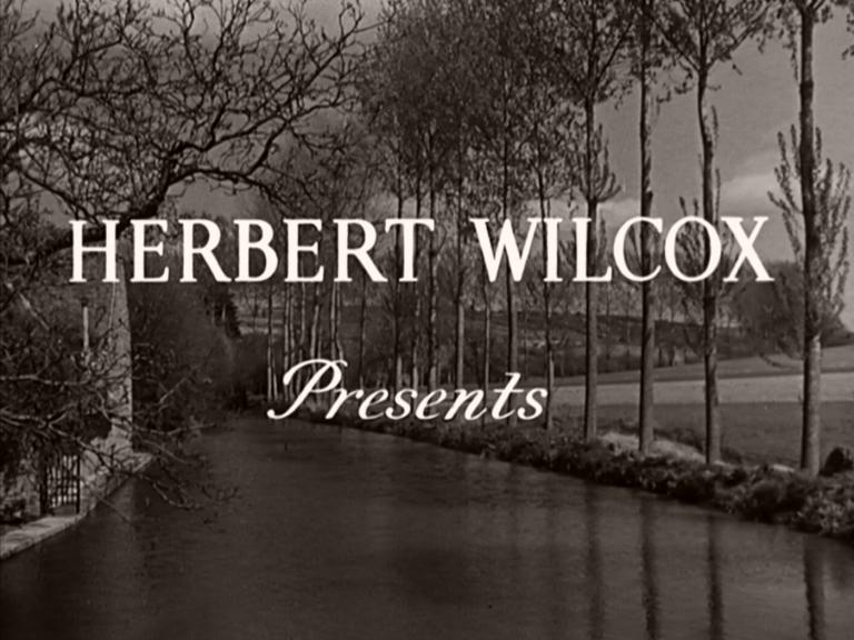 Opening credits from Odette (1950) (1)