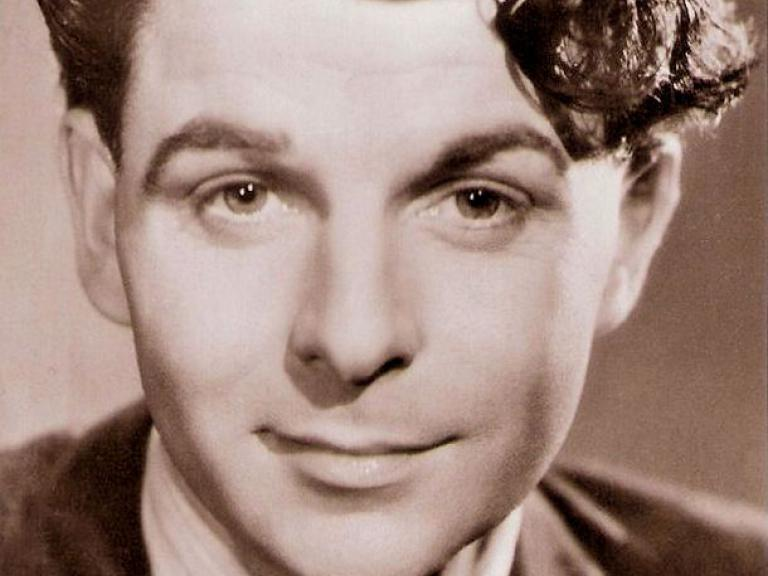 Picturegoer Series publicity postcard for The Stars Look Down (1940) featuring Welsh actor, Emlyn Williams, number 1423 (1)