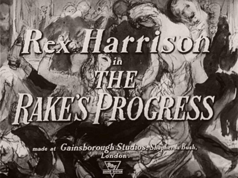 Main title from The Rake's Progress (1945) (2)