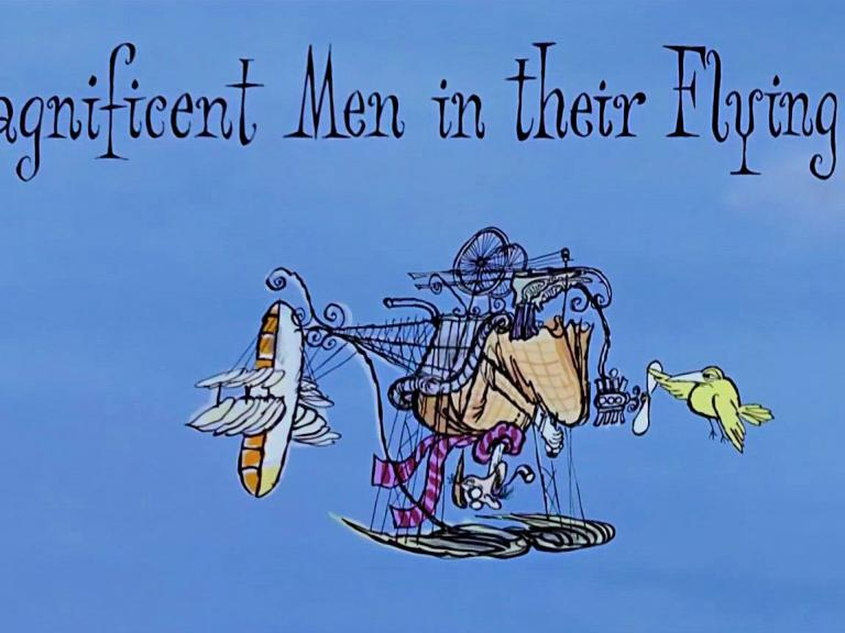 Main title from Those Magnificent Men in Their Flying Machines (1965)