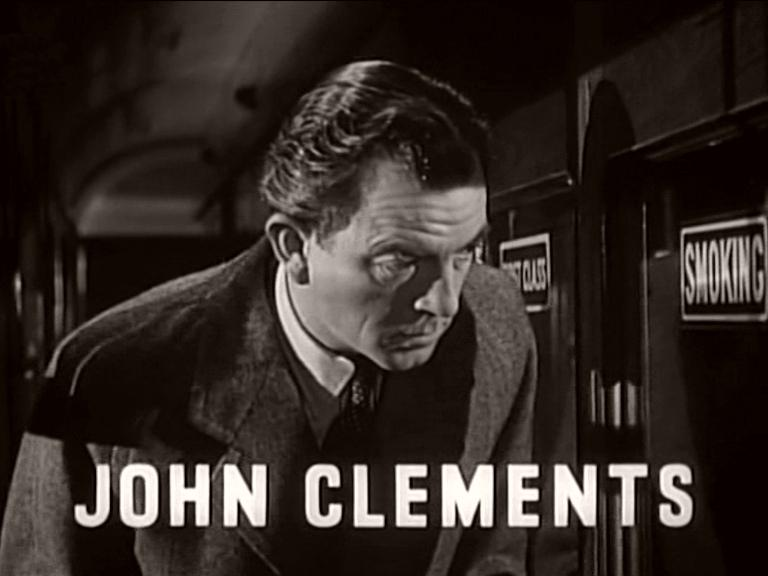 Main title from Train of Events (1949) featuring John Clements