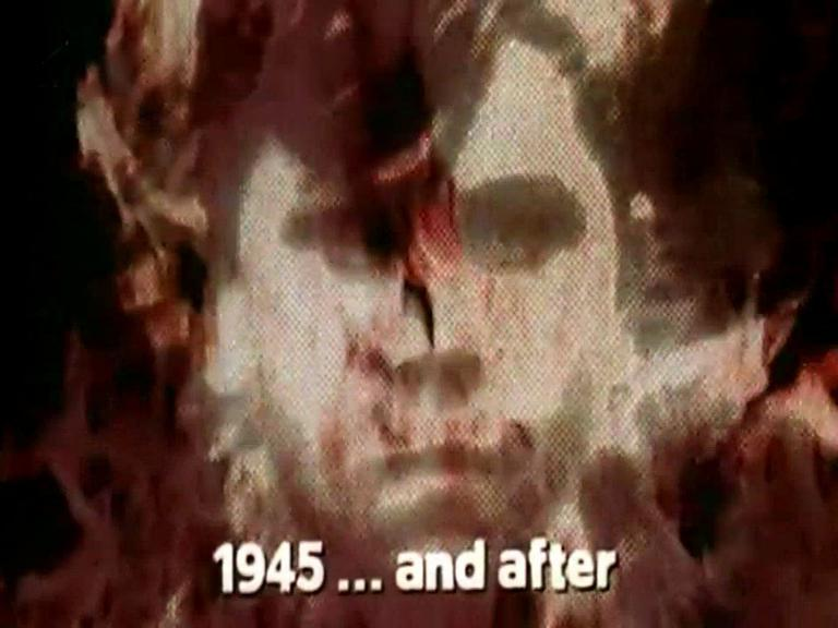 Main title from the 1974 'Reckoning' episode of The World at War (1973-1974) (2). 1945… and after