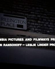 Main title from 10 Rillington Place (1971) (2). Columbia Pictures and Filmways present a Martin Ransohoff – Leslie Linder production