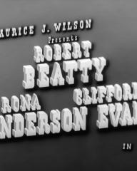 Main title from The 20 Questions Murder Mystery (1950) (1). Robert Beatty, Rona Anderson, Clifford Evans in