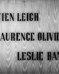 Main title from 21 Days (1940) (1).  Vivien Leigh Laurence Olivier, Leslie Banks