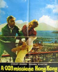 Poster for A 009 missione Hong Kong [Code Name Alpha] (1965) (2)