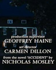 Main title from Accident (1967) (12)