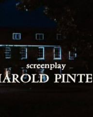 Main title from Accident (1967) (18).  Screenplay Harold Pinter