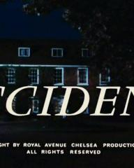 Main title from Accident (1967) (6).  1967 copyright by Royal Avenue Chelsea Productions Limited.  All rights reserved