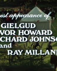 Main title from Aces High (1976) (7).  Special guest appearance of John Gielgud Trevor Howard, Richard Johnson and Ray Milland