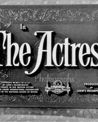 Main title from The Actress (1953)