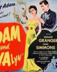 American poster for Adam and Evalyn [Adam and Evelyne] (1949) (1)