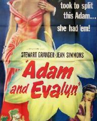 Poster for Adam and Evelyne (1949) (3)