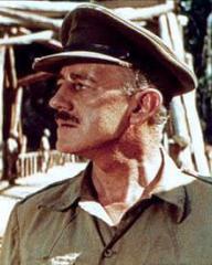 Colonel Nicholson (Alec Guinness) in David Lean's The Bridge on the River Kwai (1957)