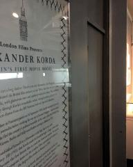 Picture from the 2019 BFI Southbank exhibition of Hungarian film-maker, Alexander Korda (1)