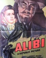 Poster for Alibi (1942) (1)