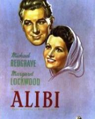 Poster for Alibi (1942) (2)