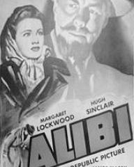 Poster for Alibi (1942) (3)